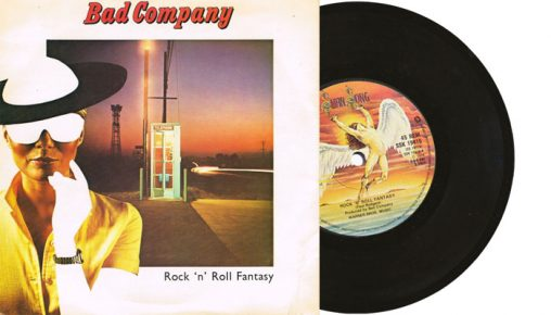 "Bad Company - Rock 'n Roll Fantasy - 7"" single"