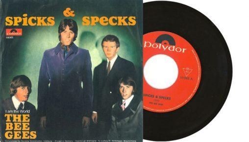 "Bee Gees - Spicks & Specks 7"""