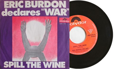 "Eric Burdon declares ""War"" - Spill the Wine 7"""