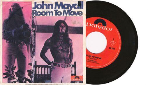 "John Mayall - Room To Move 7"" single"