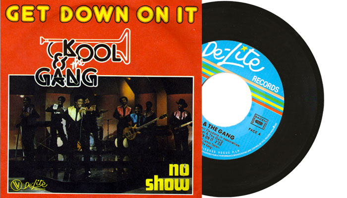 "Kool & The Gang - Get Down On It 7"" single"