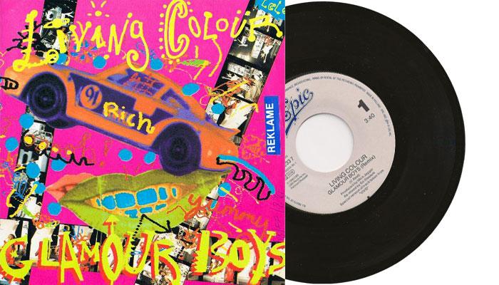 "Living Colour - Glamour Boys 7"" single"