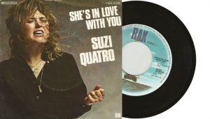 """Suzi Quatro - She's In Love With You 7"""" single"""