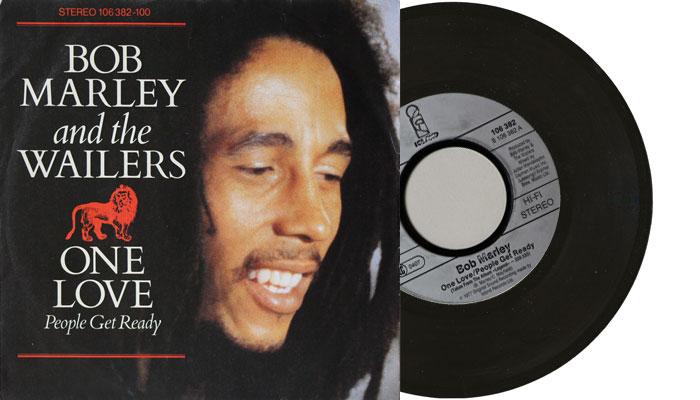 "Bob Marley & The Wailers - One Love (People Get Ready) - 1884 7"" single"