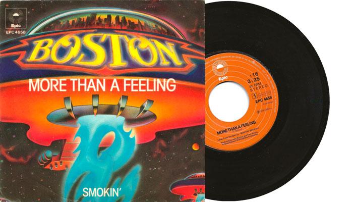 "Boston - More than a feeling - 7"" vinyl single"