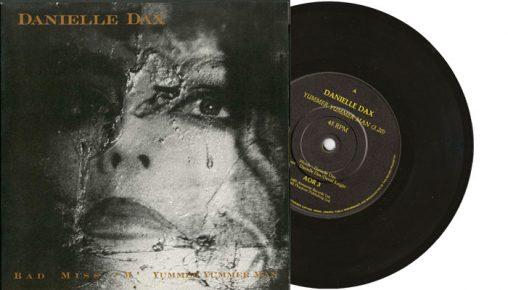"Danielle Dax - Yummer Yummer Man / Bad Miss M - 7"" vinyl single"