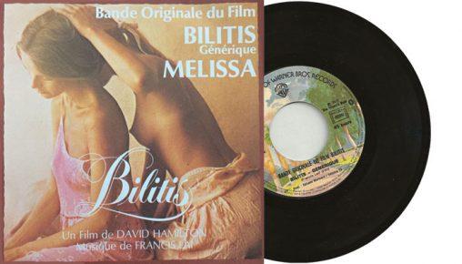"""Francis Lai - Bilitis générique """" single"""