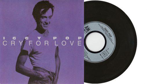 "Iggy Pop - Cry For Love 7"" single"