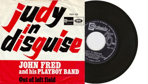 """John Fred & His Playboy Band - Judy in Disguise With Glasses 7"""" single"""