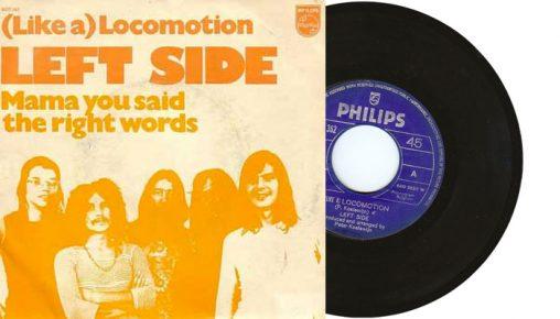 "Left Side - (like a ) Locomotion - 7"" vinyl single"