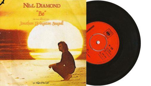 "Neil Diamond - Be (theme from Jonathan Livingston Seagull - 7"" vinyl single"