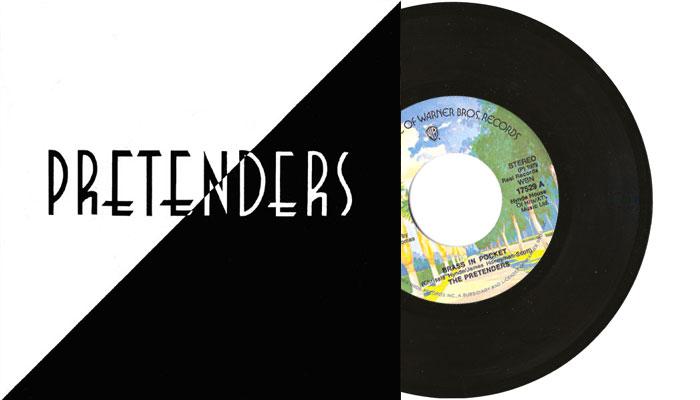 """Pretenders - Brass in Pocket - 7"""" single"""