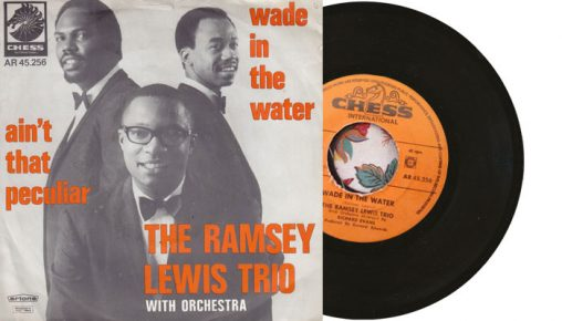 """Ramsey Lewis - Wade in the Water 7"""" single"""