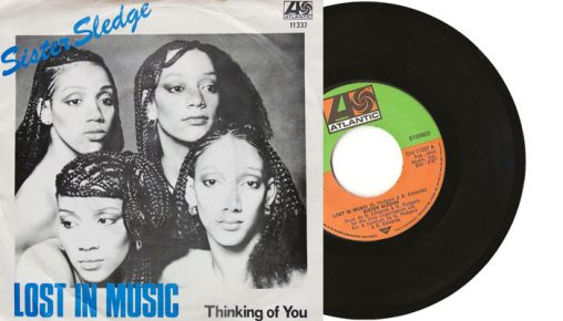"""Sister Sledge - Lost in Music / Thinking of you 7"""" single"""