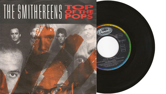 """The Smithereens - Top of the Pops - 7"""" vinyl single"""