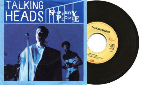 """Talking Heads - Slippery People - 7"""" vinyl single"""