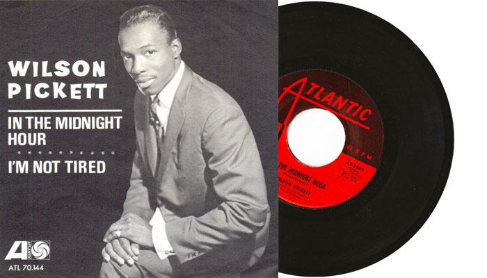 "WIlson Pickett - In the midnight hour - 7"" vinyl single"