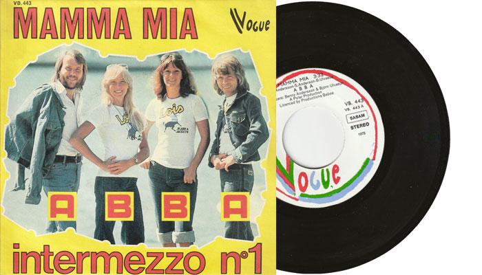 "ABBA - Mamma Mia - 1975 7"" vinyl single"