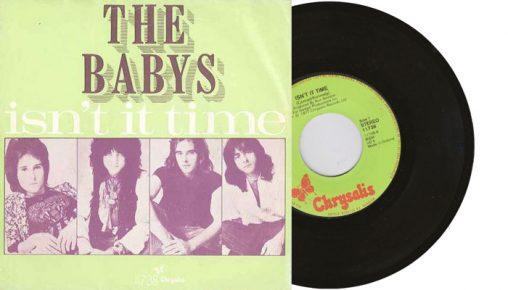 "The Babys - Isn't it time - 7"" vinyl single"