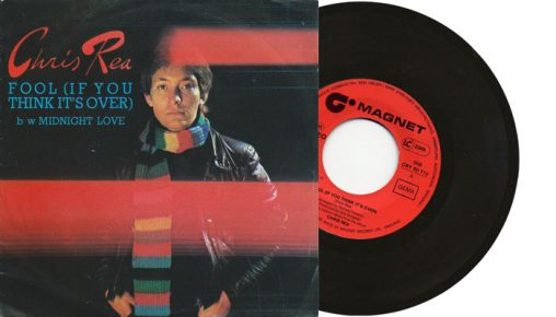 """Chris Rea - Fool if you think it's over - 1978 7"""" vinyl single"""
