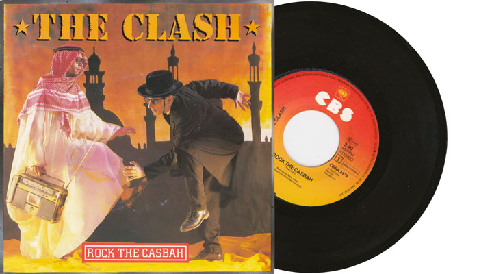 "The Clash - Rock the Casbah - 7"" vinyl single"