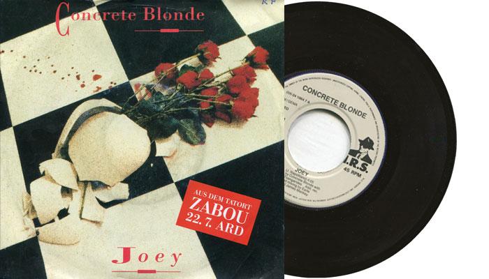 "Concrete Blonde - Joey - 7"" vinyl single"