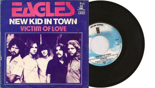 "Eagles - New Kid In Town - 7"" vinyl single"