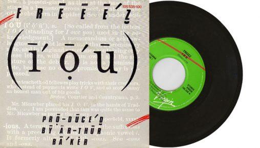 "Freeez - I.O.U. - 1983 7"" vinyl single"