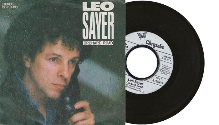 "Leo Sayer - Orchard Road - 7"" vinyl single"