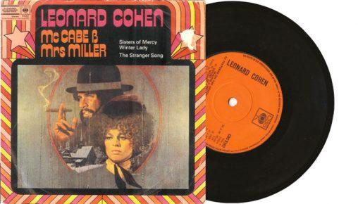 "Leonard Cohen - Sisters of Mercy - 1971 7"" vinyl single"