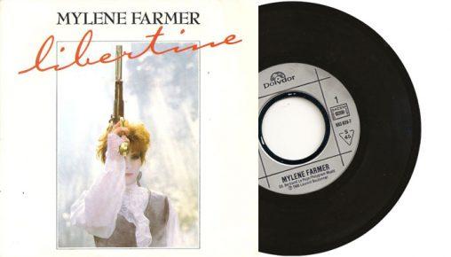 """Mylene Farmer - Libertine 7"""" vinyl single"""