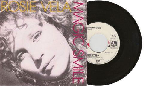 "Rosie Vela - Magic Smile - 7"" vinyl single"