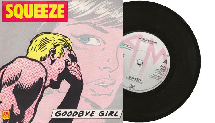 "Squeeze - Goodbye Girl - 7"" vinyl single"