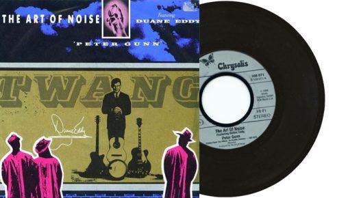 "The Art of Noise featuring Duane Eddy - Peter Gunn - 7"" vinyl single from 1986"