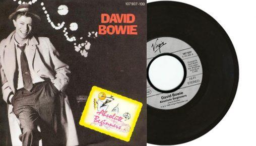 "David Bowie - Absolute beginners - 7"" vinyl single from 1986"