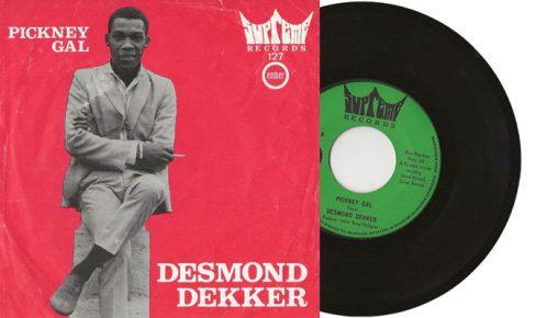 "Desmond Dekker - Pickney Gal - 1979 7"" vinyl single"