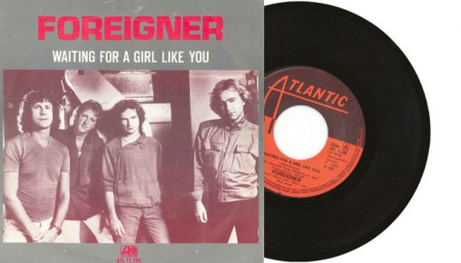 """Foreigner - Waiting for a girl like you - 1981 7"""" vinyl single"""