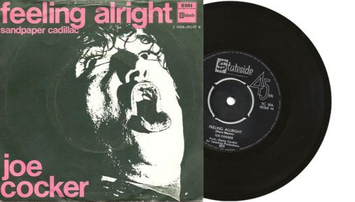 "Joe Cocker - Feeling Alright - 1969 7"" vinyl single"