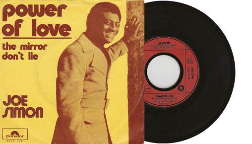 "Joe Simon - Power of Love - 7"" vinyl single 1972 Polydor"
