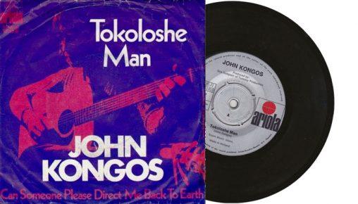 """John Kongos - Tokoloshe Man - 1971 7"""" vinyl single"""