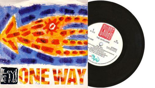 "Levellers - One Way - 7"" vinyl single in 1991"