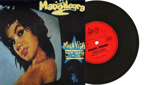 "Mano Negra - Mala Vida - 1988 7"" vinyl single on Boucherie Productions"
