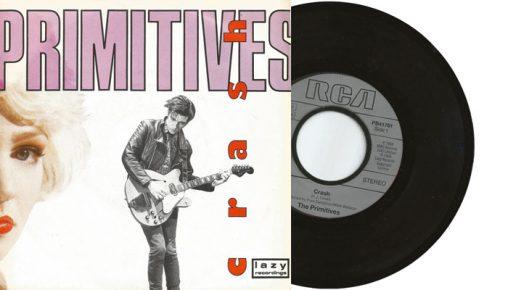 "The Primitives - Crash - 1988 7"" vinyl single"