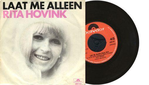 """Rita Hovink - Laat me alleen - 1976 7"""" vinyl single"""