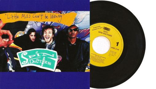 """Spin Doctors - Little Miss Can't Be Wrong - 7"""" vinyl single"""