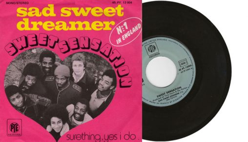 "Sweet Sensation - Sad Sweet Dreamer - 1974 7"" vinyl single"