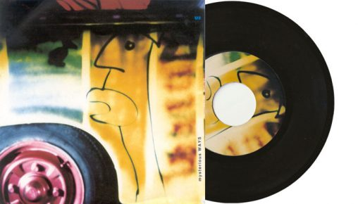 "U2 Mysterious Ways - 7"" vinyl single"