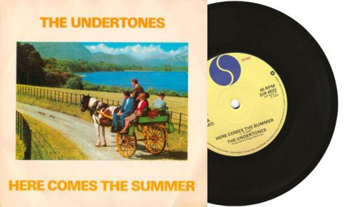 "The Undertones - Here Comes the Summer - 1979 UK 7"" vinyl single"