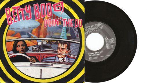 "Betty Boo - Doin' the Do - 1990 7"" vinyl single on Indisc"