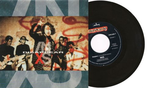 """INXS - Disappear - 7"""" vinyl single from 1990"""